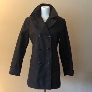 GAP Black Trench/Raincoat